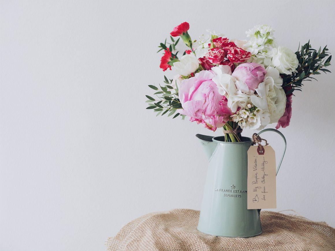 Fleurs de chambre hôtel La Vigneraie de Levens